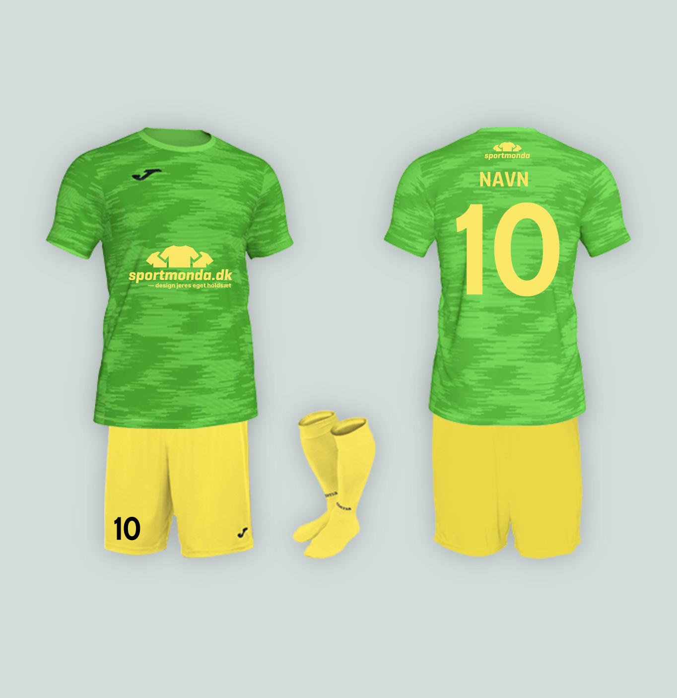 tryk på fodboldtrøjer til klub